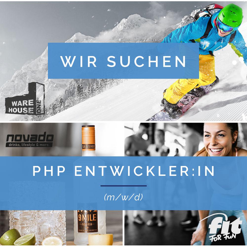 Stellenanzeige PHP Entwickler-in